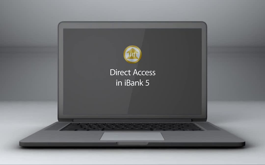 Direct Access in iBank 5 Screencast Tutorial Video
