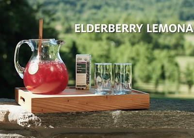 Gaia Herbs Recipes: Elderberry Lemonade