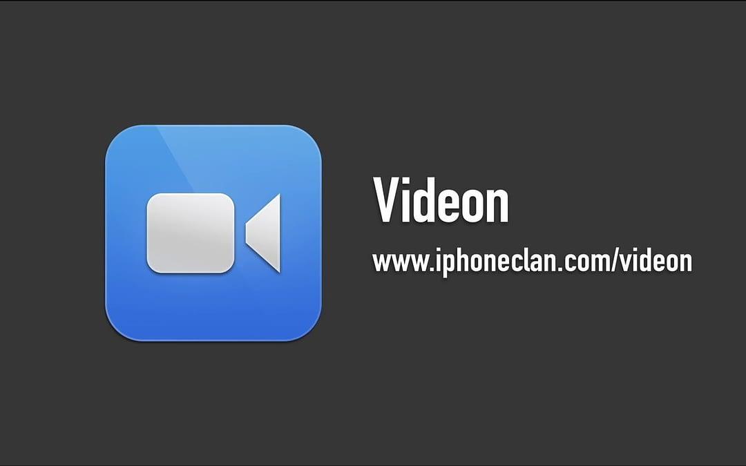 Videon iOS App Demo Video