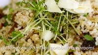 Whole Foods Midwest Holiday Videos 2010 : Rice with Smoked Portobellos