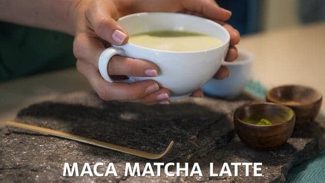 Gaia Herbs Recipe Video: Maca Matcha Latte