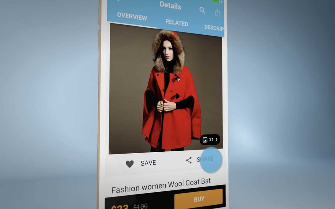 Wish iOS App Social Media Ad – Portfolio Retrospective