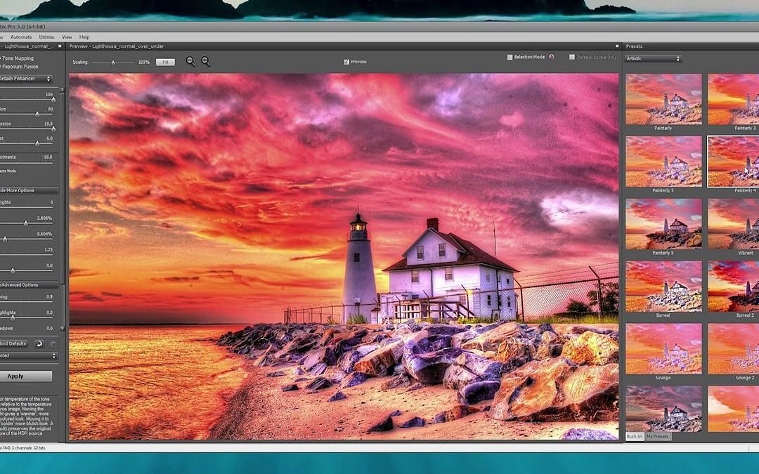 HDRSoft Photomatix Pro 5 for Windows Tutorial Screencast