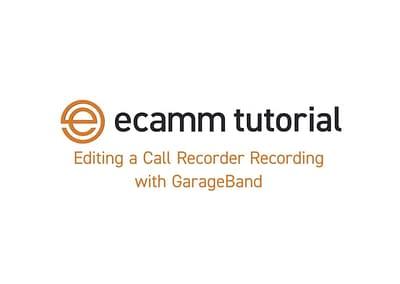 Software Tutorial Video: ecamm Call Recorder